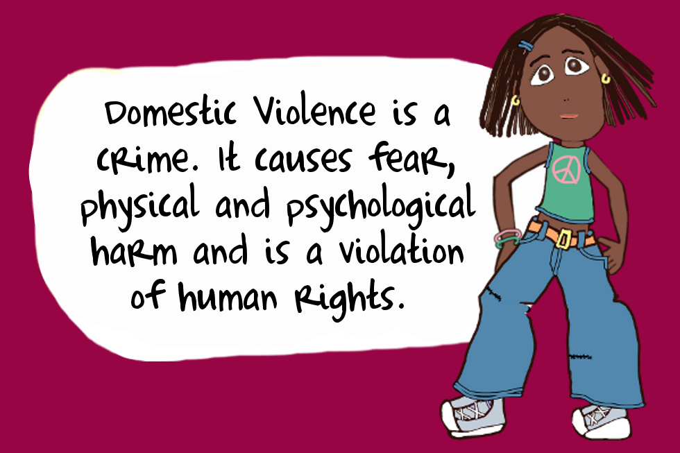 Domestic Violence is a Crime