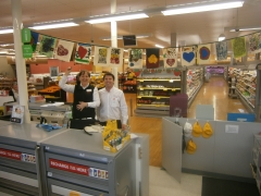 Kempsey Coles shows their support